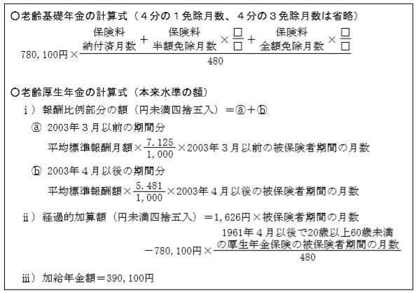 老齢基礎年金及び加給年金(2級FP個人資産)